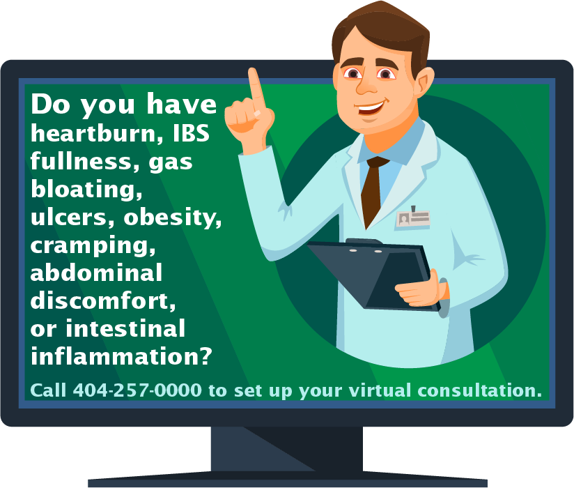Gastro Atlanta TeleHealth Services Now Available Comprehensive Medical Evaluation From the Comfort of Your Own Home COVID-19 UPDATE